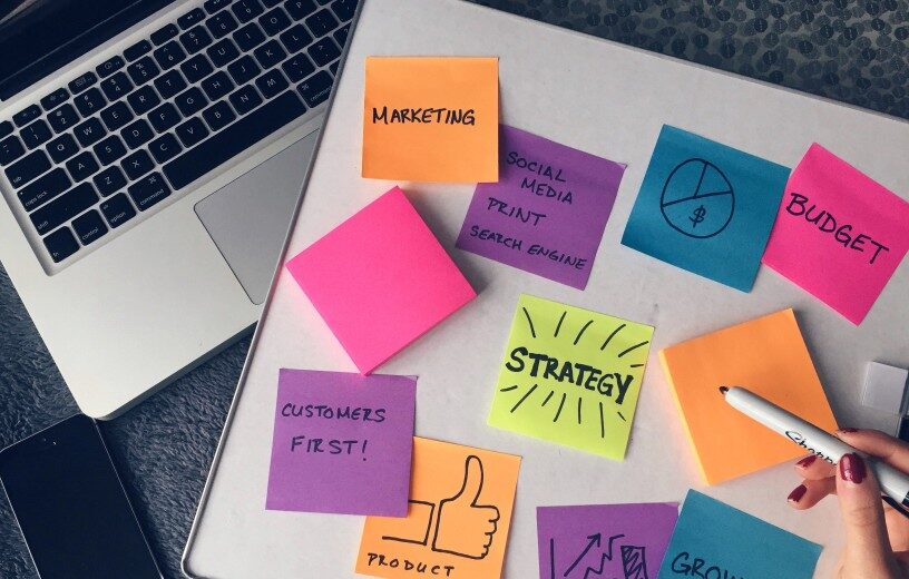 social media strategy by best website company in India